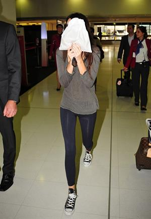 Kendall Jenner at Sydney International Airport 11/6/12