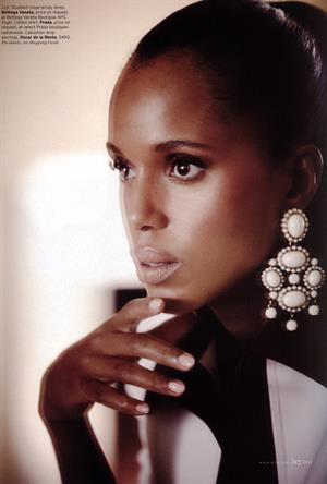 Kerry Washington Elle (US) December, 2012