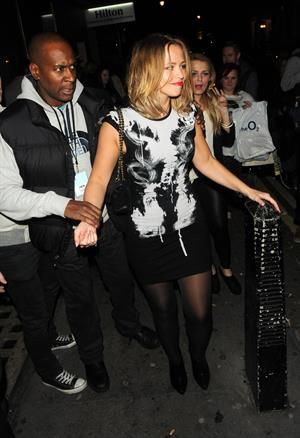 Kimberley Walsh Cheryl Cole's Concert After Party - October 8, 2012