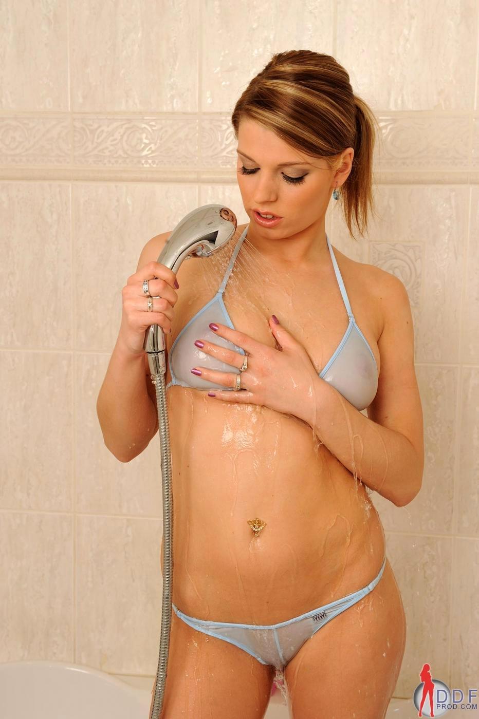 Monalee in lingerie - breasts