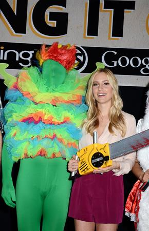 Kristin Cavallari Hosts The Bing it on Halloween Costume Challenge in New York on October 19, 2012