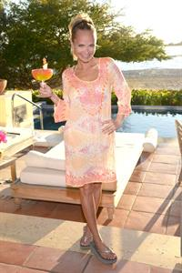 Kristin Chenoweth returns to her favorite vacation spot, The St. Regis Punta Mita Resort in Mexico April 13, 2013