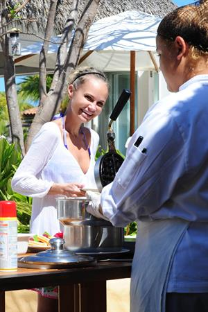 Kristin Chenoweth Day Two at The St. Regis Punta Mita Resort April 14, 2013