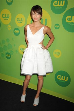 Kristin Kreuk Attends the CW's Upfront presentation at New York City Center in New York City on May 16, 2013