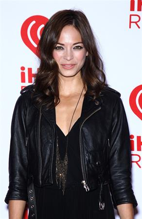 Kristin Kreuk at iHeartRadio Music Festival at the MGM Grand Garden Arena in Las Vegas - September 22, 2012