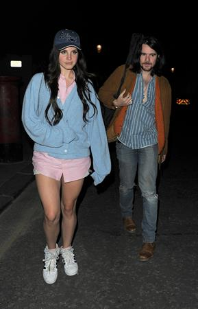 Lana Del Rey night out in London (11.07.2013)