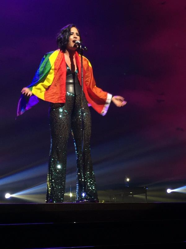 Demi for LGBT