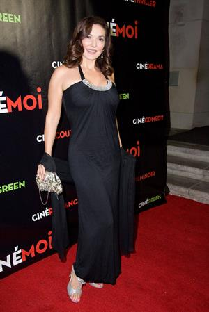 Laura Harring Cinemoi, International Lifestyle Television Network Launch Party (Oct 2, 2012)