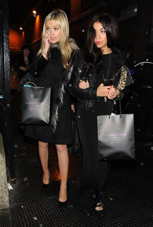 Laura Whitmore London Lingerie Fashion Show - October 24, 2012