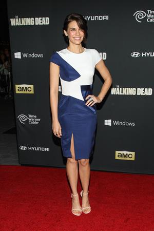 Lauren Cohan  The Walking Dead  Season 4 Premiere - Universal City, Oct. 3, 2013