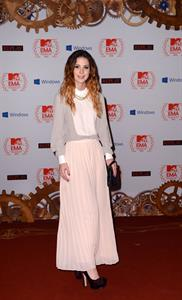 Lena Meyer-Landrut MTV EMA's 2012 Frankfurt on November 11, 2012