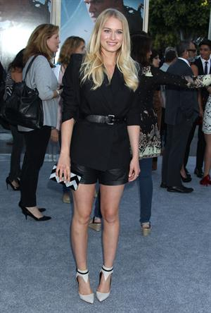 Leven Rambin  Elysium  Los Angeles Premiere - Westwood, Aug. 7, 2013