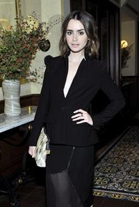 Lily Collins - CFDA & Vogue Fashion Fund Dinner 10/23/13