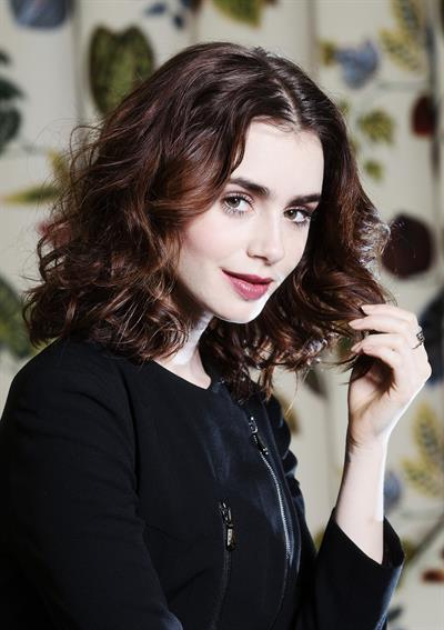 Lily Collins - The Times UK Mag June 2013