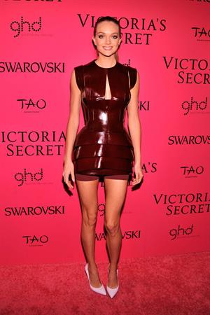 Lindsay Ellingson Victoria's Secret Fashion after party at TAO Downtown New York City, November 13, 2013