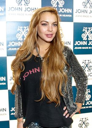 Lindsay Lohan Opening of the new John John clothing store in Sao Paulo on March 28, 2013