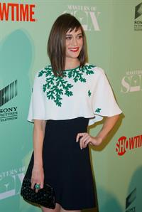 Lizzy Caplan  Masters Of Sex  New York Series Premiere, 26 Sep 2013