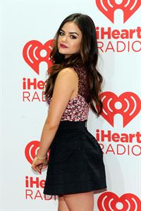 Lucy Hale iHeartRadio Music Festival - Day 2, September 21, 2013
