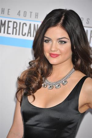 Lucy Hale American Music Awards (November 18, 2012)