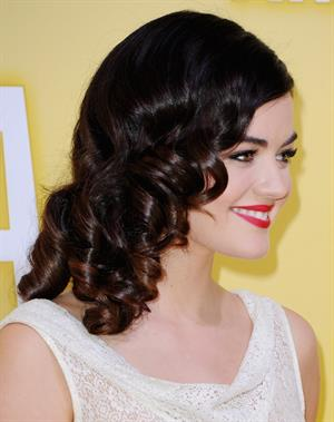Lucy Hale 46th annual CMA awards in Nashville 11/1/12