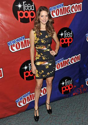 Lyndsy Fonseca 2010 New York Comic Con - Day 3, Oct 10, 2010