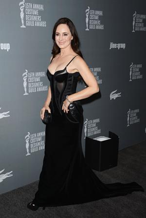 Madeleine Stowe 15th Annual Costume Designers Guild Awards in Beverly Hills February 19, 2013