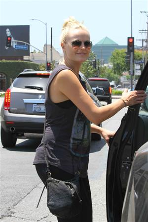 Malin Akerman out and about in Beverly Hills on May 31, 2013