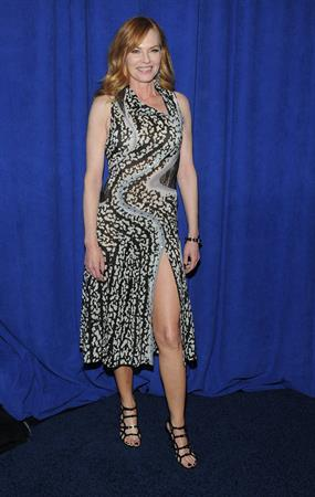 Marg Helgenberger CBS 2013 Upfront in NYC 5/15/13