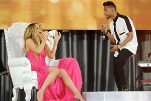 Mariah Carey Good Morning America Summer Concert Series Kick-Off (May 24, 2013)