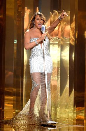 Mariah Carey BET Awards at Nokia Theatre in Los Angeles June 30, 2013