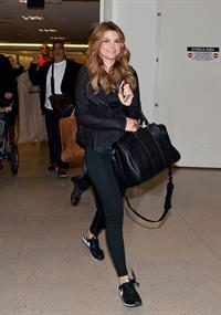Maria Menounos – LAX airport arrival in LA 10/15/13