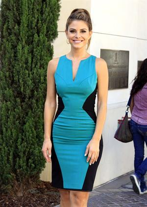 Maria Menounos - Extra set candis at The Grove in LA on August 28, 2012