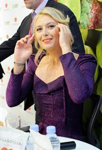 Maria Sharapova  Sugarpova Candy Launch in Moscow  April 29, 2013