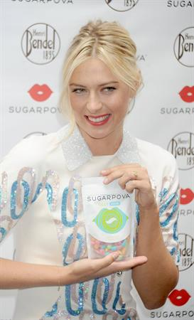Maria Sharapova - Sugarpova Candy Launch In NY August 20, 2012