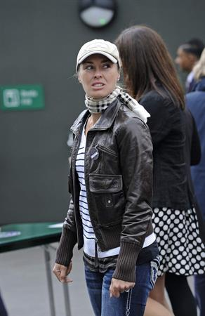 Martina Hingis Outside Wimbledon Lawn Tennis Club in London June 24, 2013