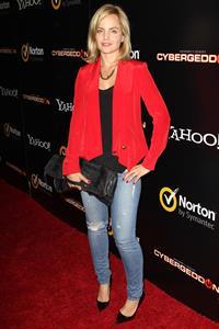 Mena Suvari Cybergeddon' LA Premiere - September 24, 2012