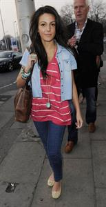 Michelle Keegan before the Wanted Concert March 28, 2011