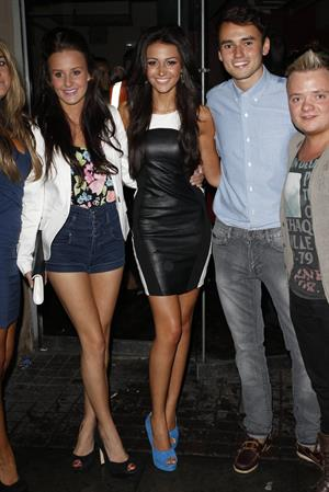 Michelle Keegan - at Tiger Tiger Night club in Manchester - July 28, 2012