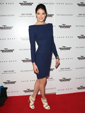 Michelle Monaghan at the Cinema Society Hugo Boss screening of Inglourious Basterds at SVA Theater in New York City