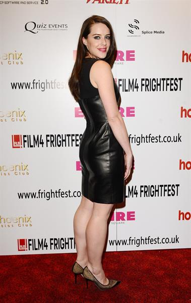 Michelle Ryan - Cockneys Vs Zombies Special Screening in London - August 23, 2012