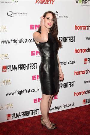 Michelle Ryan - Cockneys Vs Zombies Special Screening in London - August 23, 2012
