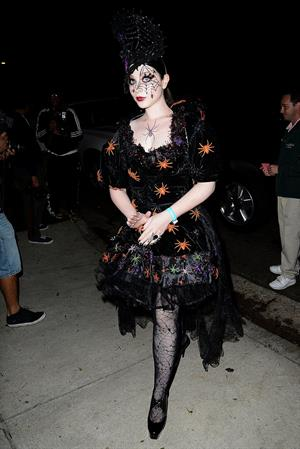 Michelle Trachtenberg - Casamigos Halloween Party 10/25/13