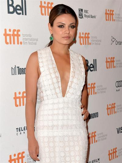 Mila Kunis  Third Person  Premiere at Toronto International Film Festival - Sep. 9, 2013