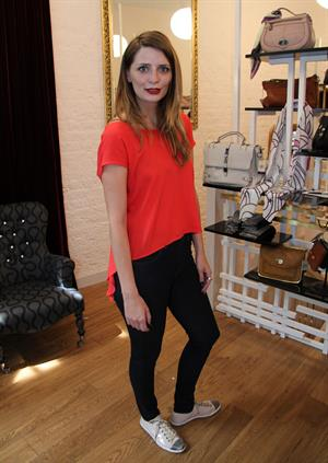 Mischa Barton - Inside Her Store in London - August 11, 2012