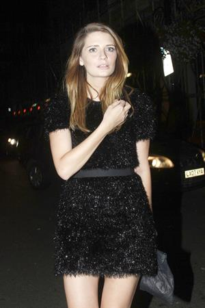 Mischa Barton - Johnnie Walker Blue Label Dinner in London (July 17, 2012)