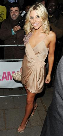 Mollie King glamour women of the year June 7, 2011