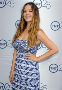 Moon Bloodgood TNT's 25th Anniversary Party -- Beverly Hills, Jul. 24, 2013