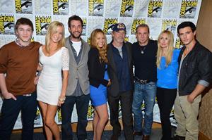 Moon Bloodgood -  Falling Skies  Press Room at Comic-Con 2012 in San Diego (July 13, 2012)