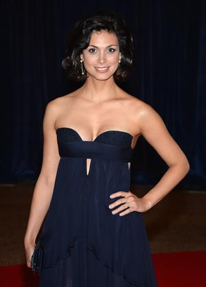 Morena Baccarin White House Correspondents' Association Dinner in Washington, D.C. 4/27/13