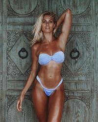 Natalie Jayne Roser in lingerie